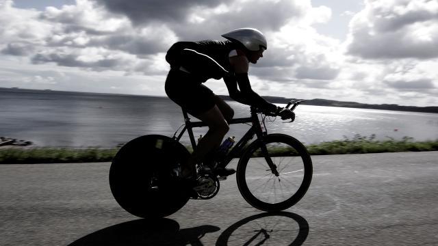 gennemsnitsfart på cykel
