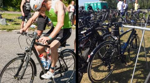 f347488644f Sådan lød det på store dele af cykelruten til Ironman Copenhagen, når  deltageren Finn Rosager Møldrup drønede forbi. Han cyklede nemlig de 180  kilometer på ...